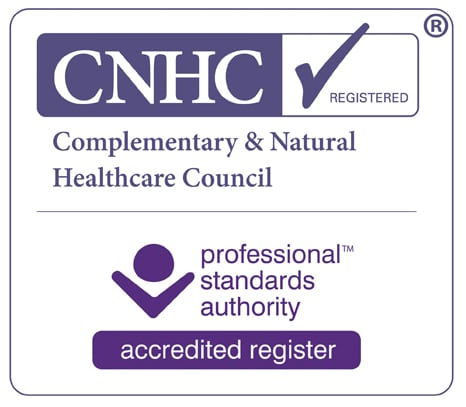 Linda Oram Hypnotherapy Therapies Norwich, is register with CNHC